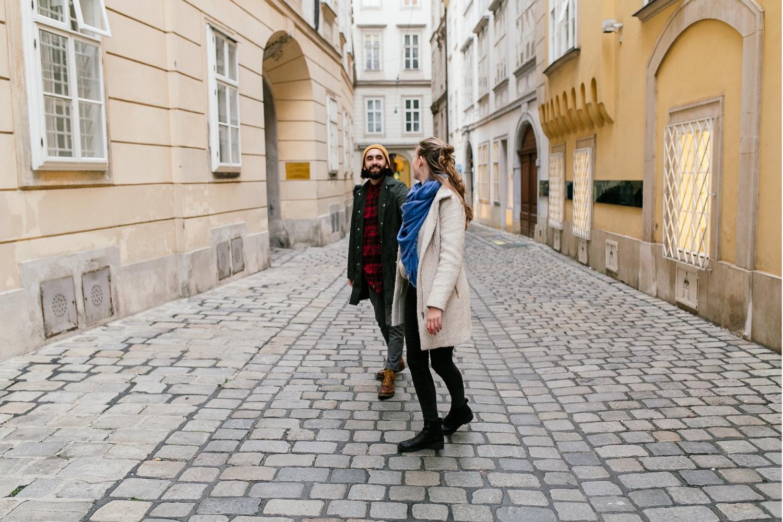 Fotograf Wien - Paarshooting in der Innenstadt