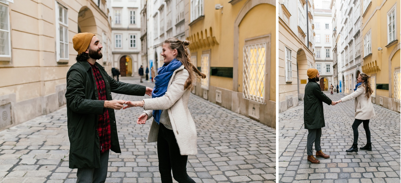 Paar Fotoshooting in Wien