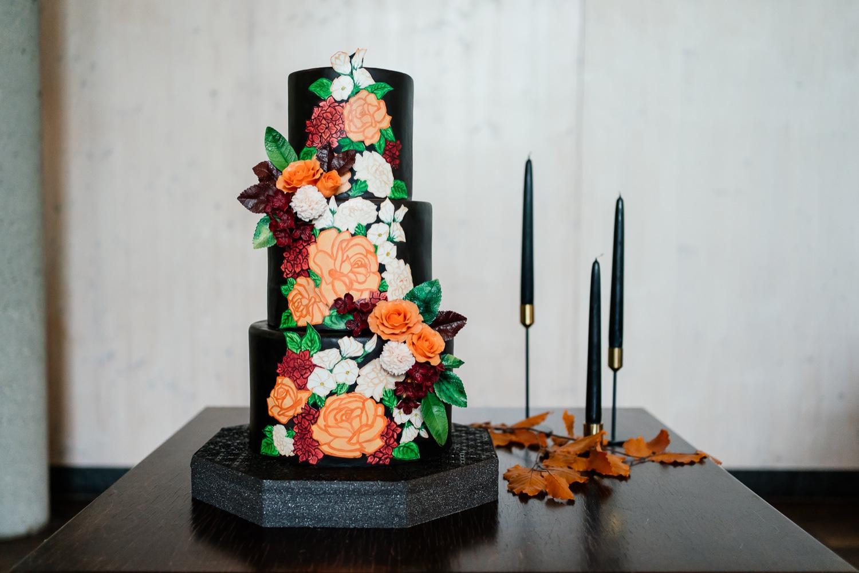 Hochzeitstorte für die Herbsthochzeit