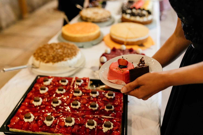 Kuchen Buffet in Finningen
