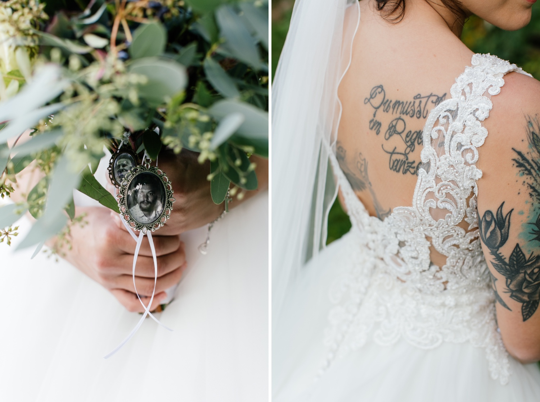 Brautstrauss für die Hochzeit in Krumbach