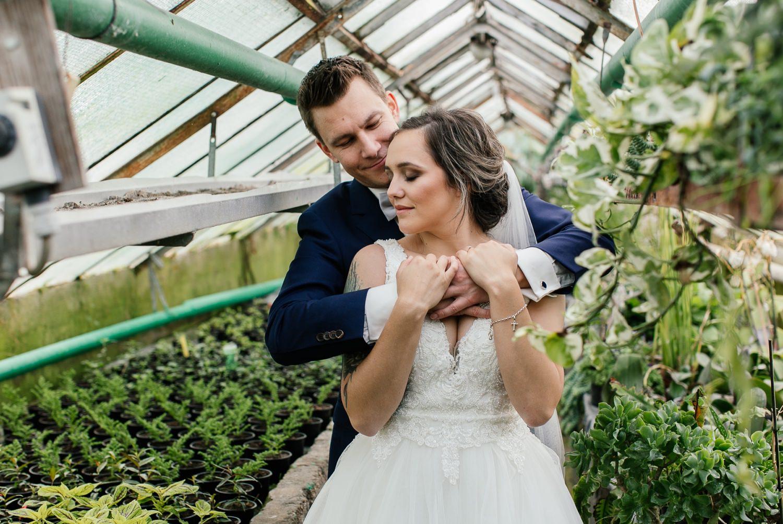 Hochzeit in Jettingen Brautpaarportrait