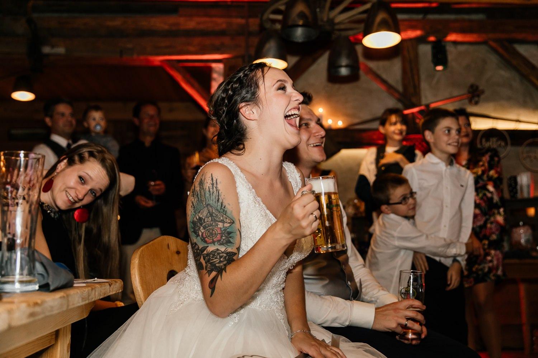 Hochzeitsfeier in Balzhausen