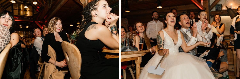 Hochzeitsfeier in der Lenderstuben