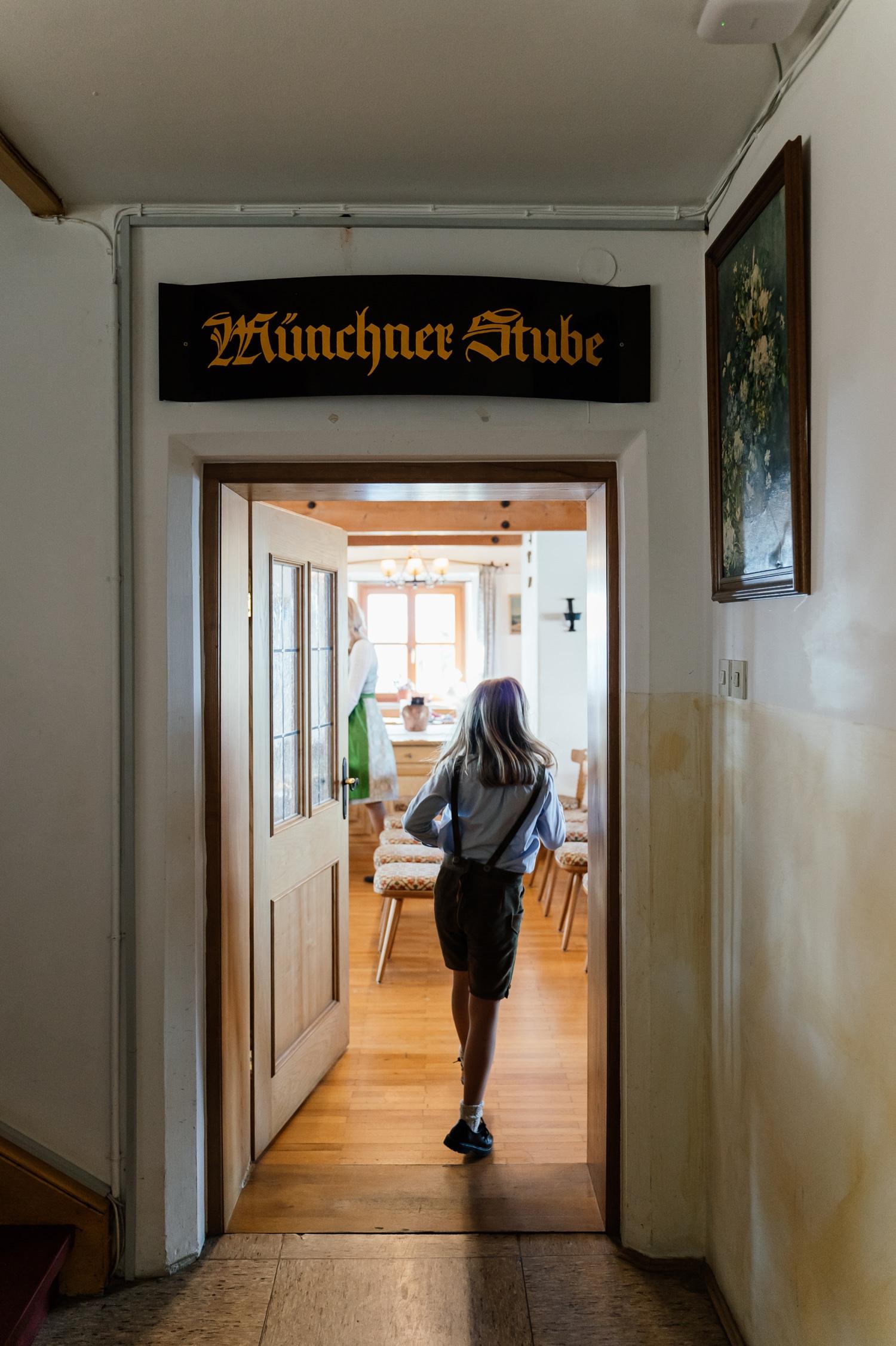 Wendelsteinhaus Standesamt mit Bergblick