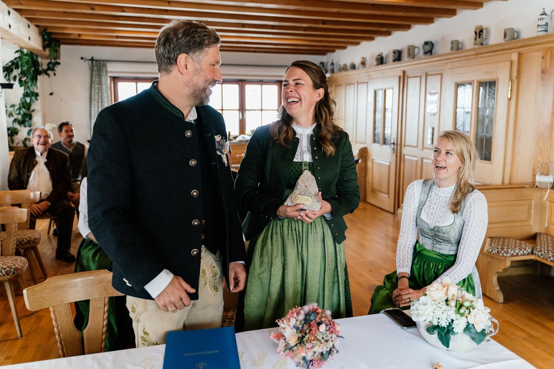 Heiraten auf dem berg Wendelstein