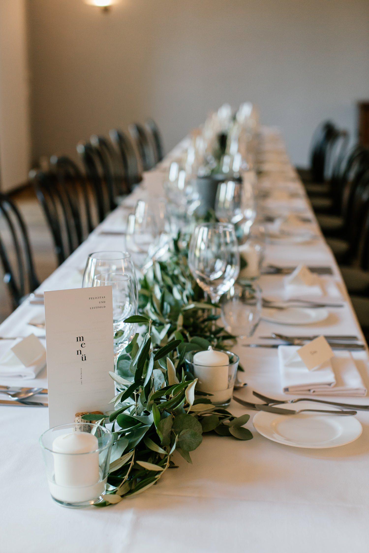 Ideen für eine Greenery Hochzeit