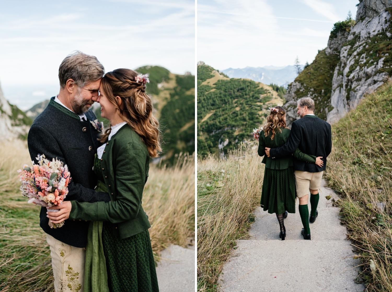 Heiraten in den Bergen - Wendelstein