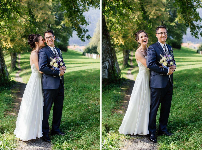 Hochzeit im Allgäu - Berge