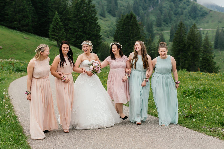Heiraten in den Bergen im Allgäu