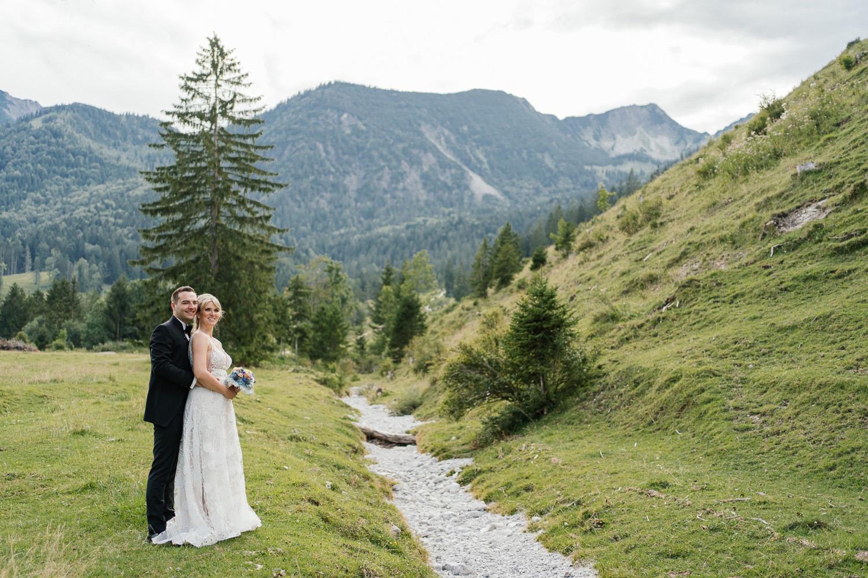 Hochzeitsfotografin für berghochzeit
