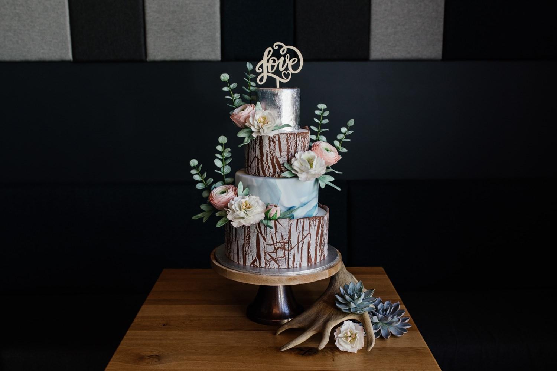 Bayrisch heiraten - Hochzeitstorte
