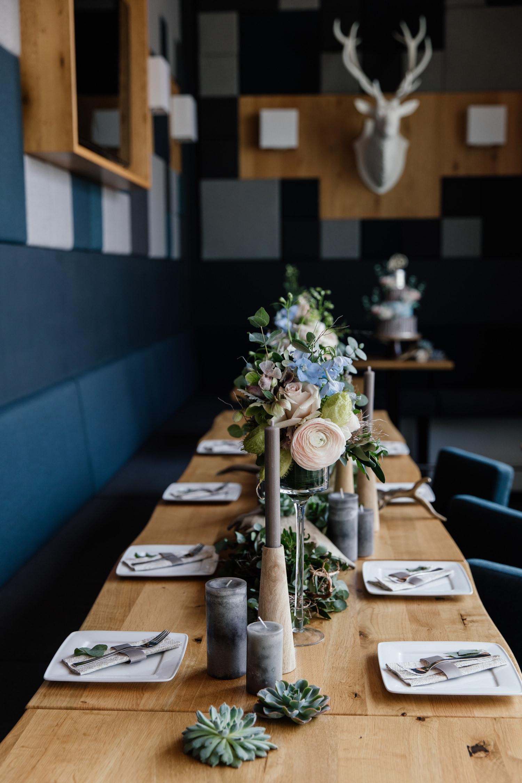 Tischdekoration Hochzeit Wertingen