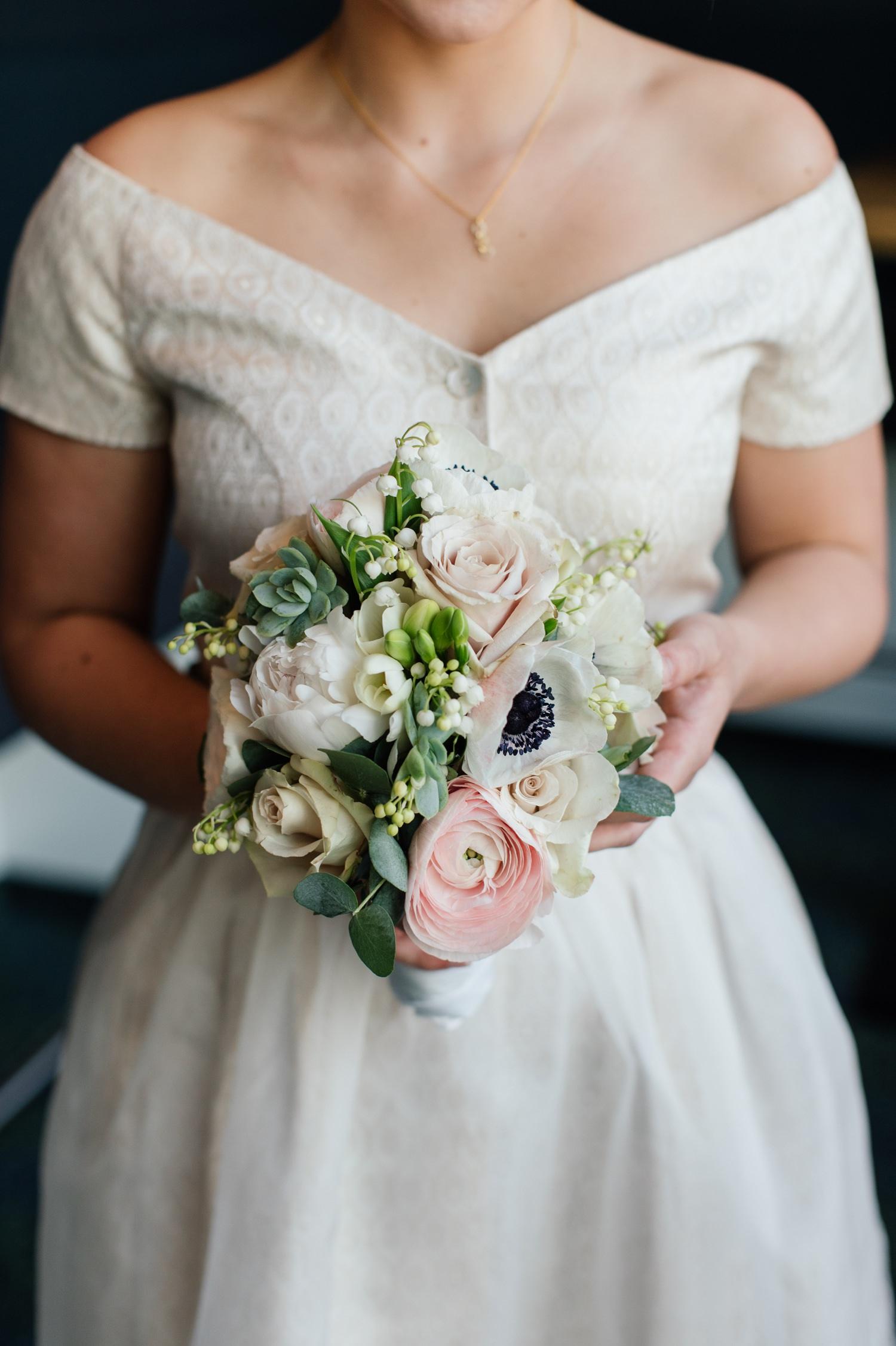 Brautstrauß Hochzeit Brautdirndl