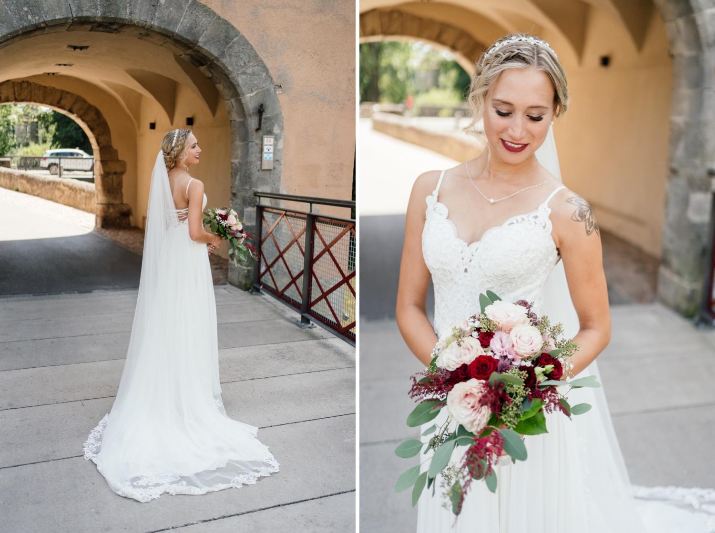 Braut in Dinkelsbühl