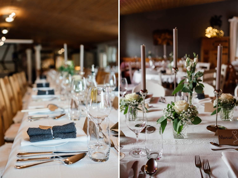 Scheunenwirtin Hochzeitsdeko