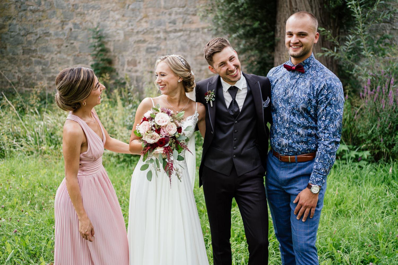 Hochzeit in Fichtenau