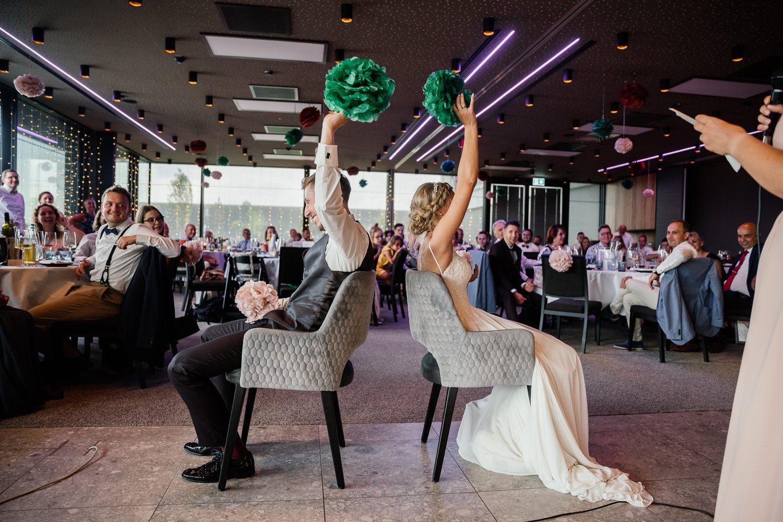 Hochzeitsfeier während corona