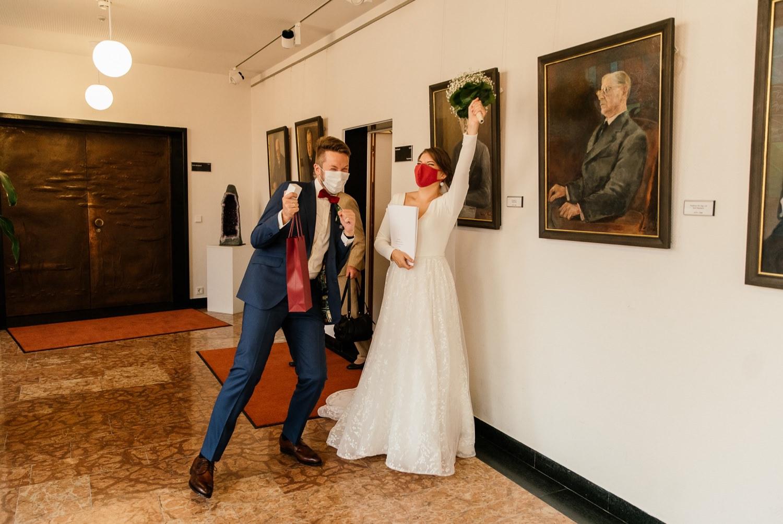 Erfahrung mit der Hochzeit während Corona