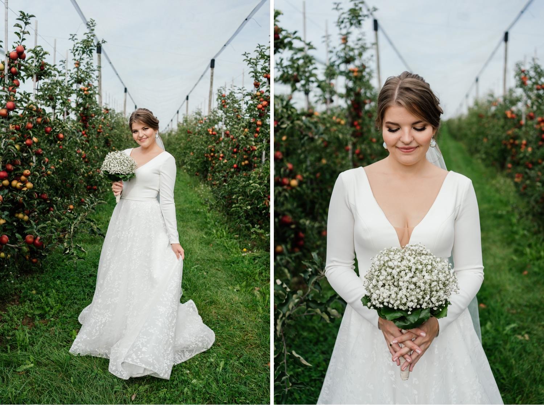 Braut-Hochzeitsfotos in Friedrichshafen