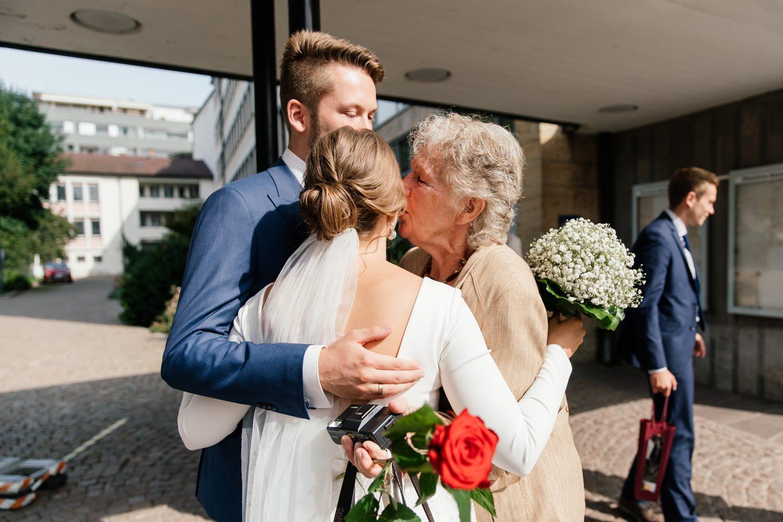 Hochzeit im Rathaus in Friedrichshafen